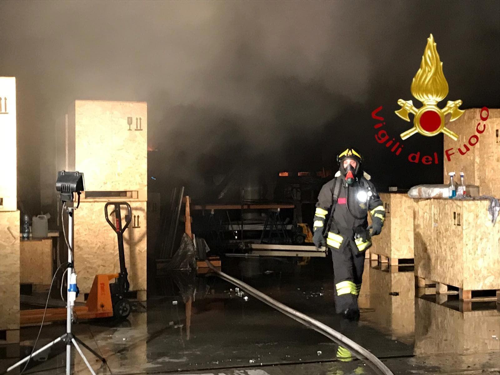 Incendio a Cabiate 5 agosto 2019 2-2-2-2