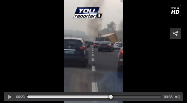 video incidente carate-2