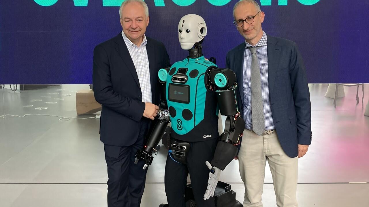 E' brianzolo il primo robot umanoide italiano