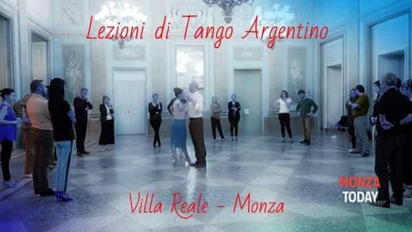 Lezioni di Tango in Villa Reale di Monza