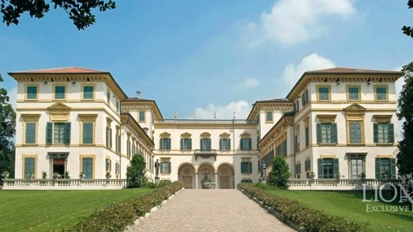 Villa Borromeo a Senago (foto Lionard Luxury Re)