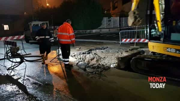 Cantiere notturno