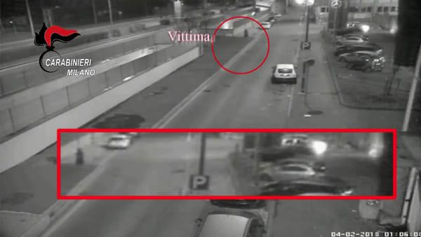 Omicidio a Cinisello Balsamo: ecco il video che incastra il killer, un netturbino Amsa