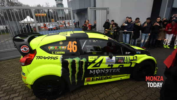 Monza Rally Show in Autodromo