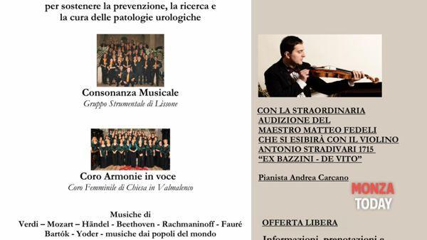 """Concerto di solidarietà """"Musica a teatro"""""""