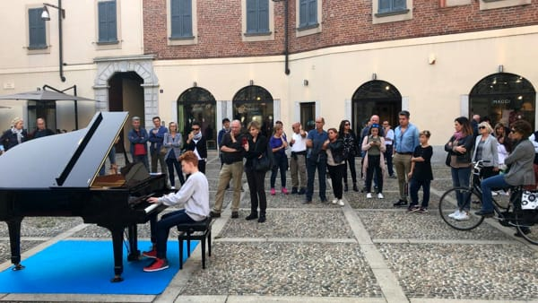 Pianoforte in piazza durante Music Week