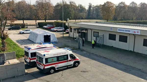 "L'Autodromo di Monza si trasforma in un check point: ambulanze e triage ""in pista"""
