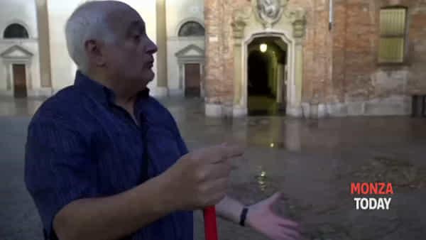 """Bomba d'acqua su Monza: allagato il convento, padre Brasca: """"Siamo sotto assedio"""""""
