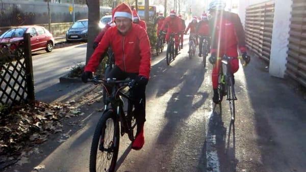Biciclettata di Natale tra le vie di Monza: l'evento