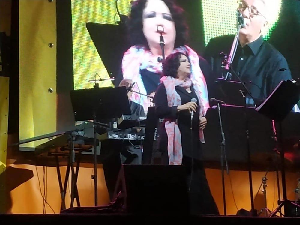 La cantante (foto dal suo profilo Facebook)