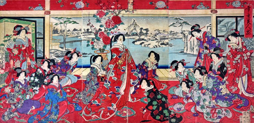 Magia del Giappone (la mostra alla Villa Reale)