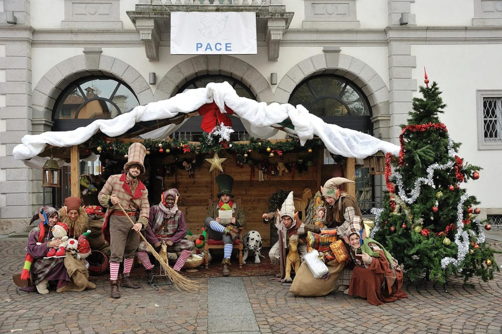 Villaggio di Natale ad Albiate (da Fb/Consulta delle Associazioni del Comune Di Albiate)