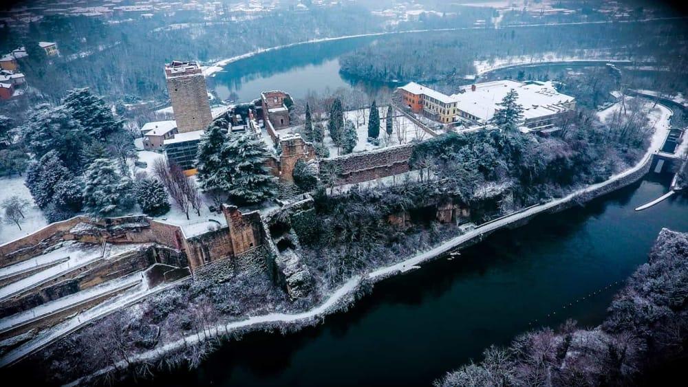 Castello di Trezzo (foto da www.prolocotrezzo.com)