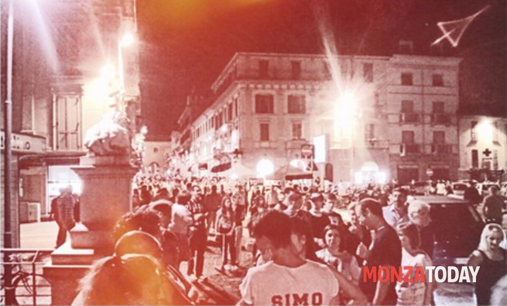 Negozi aperti e giochi in centro: ecco la notte bianca di Monza