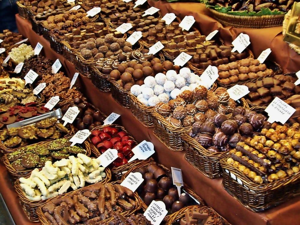 Mercatino del cioccolato (da Pixabay)
