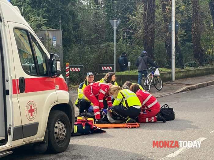 L'incidente (Foto Bennati)