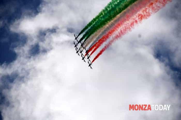 Frecce Tricolori Gran Premio di Monza (Foto Bennati-MonzaToday) (1)