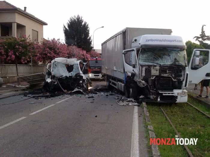 L'incidente (Immagini B&V Photographers per MonzaToday)